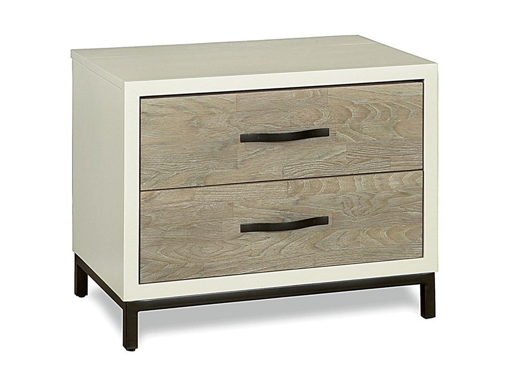 Universal Curated2 Drawer Nightstand