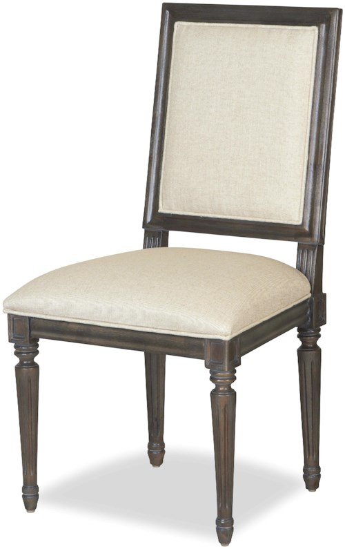 Universal Curated Bergere Side Chair