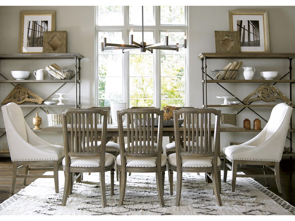 Universal Curated9 Piece Dining Set