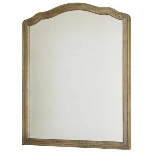 Universal Curated Mirror with Shaped Frame