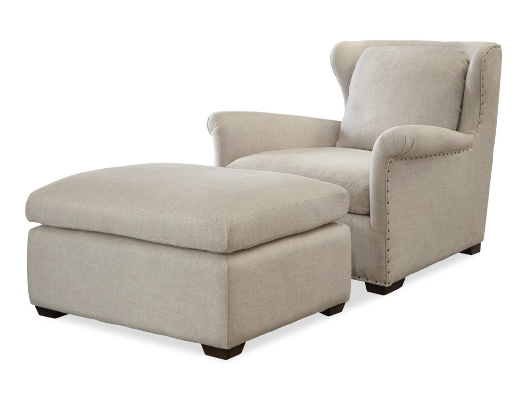 Wittman & Co. HavenTransitional Chair and Ottoman Set