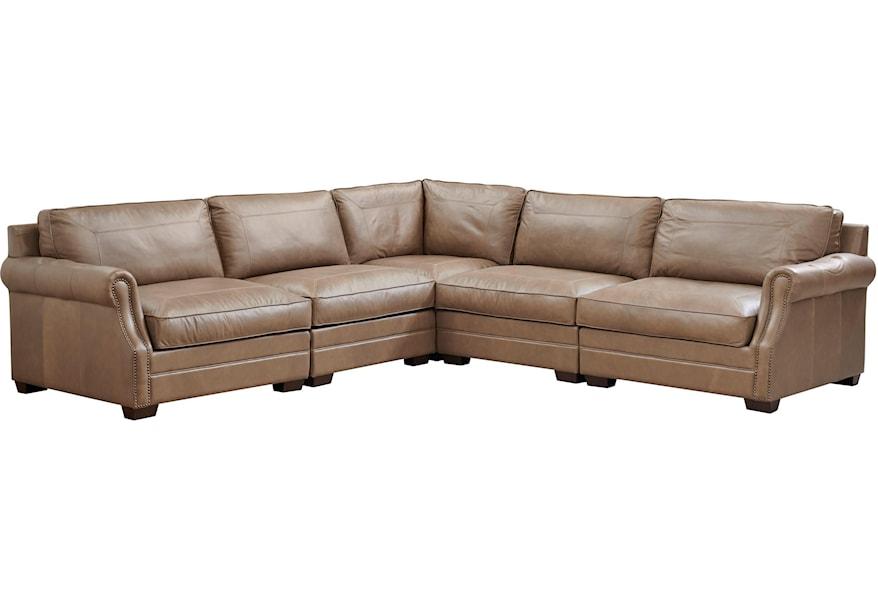 Leather Carrington Sectional