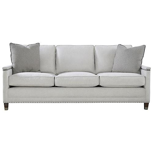 Universal Merrill Contemporary Sofa with Nail Head Trim