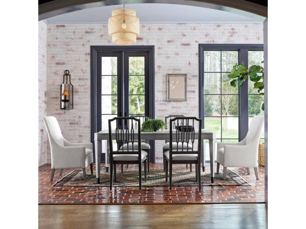 Universal Midtown7-Piece Table and Chair Set