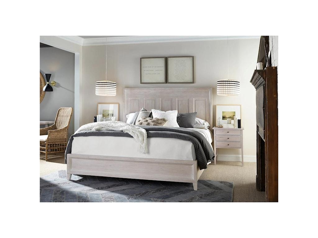 Universal Modern FarmhouseHaines Bed Queen