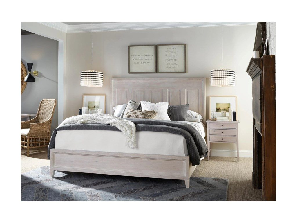 Universal Modern FarmhouseHaines Bed King