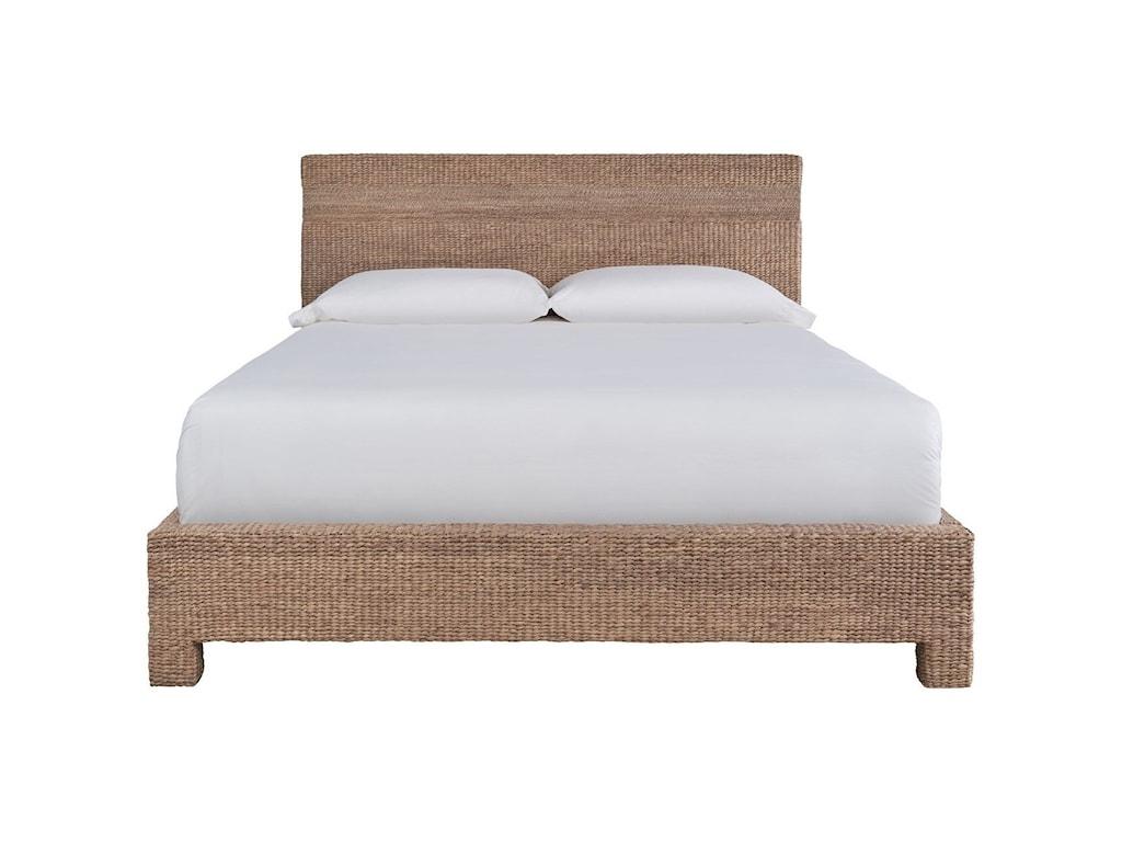 Universal Modern FarmhouseSeaton Woven Bed Queen