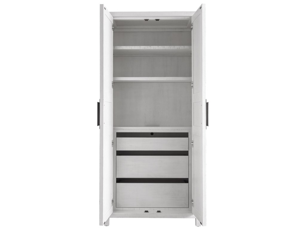 Universal Modern FarmhouseMorgan Utility Cabinet