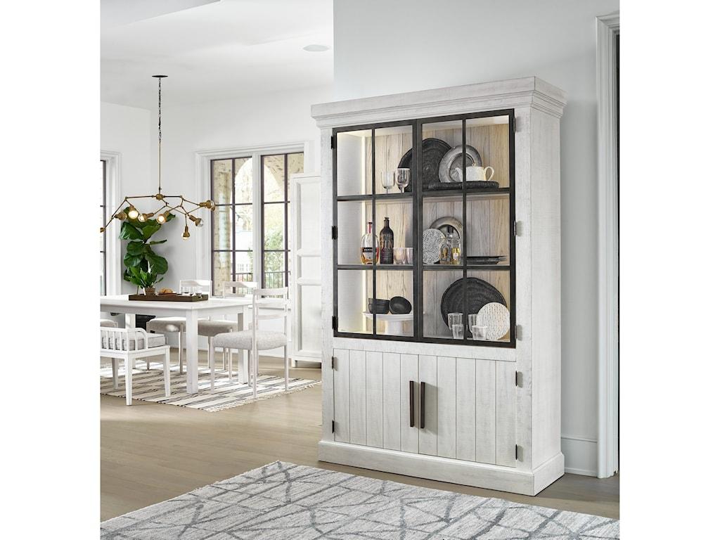Universal Modern FarmhouseHuntley Display Cabinet
