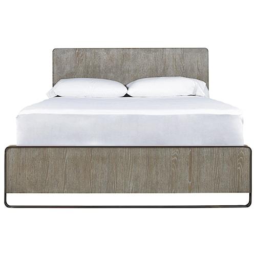 Universal Modern Keaton King Bed With Metal Frame