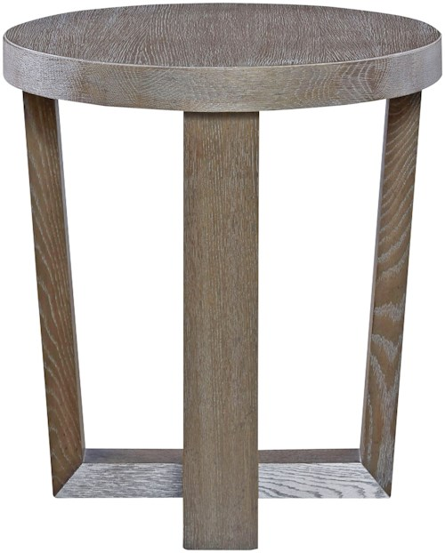 Universal Modern Contemporary Round End Table