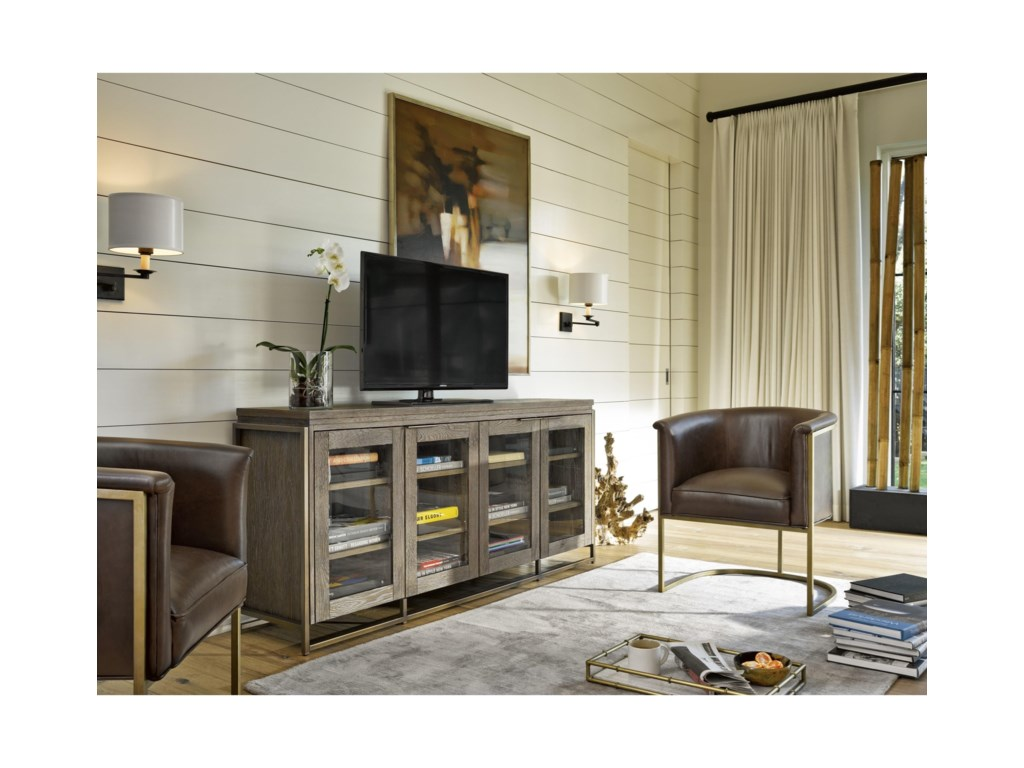 Great Rooms ModernWesley Entertainment Console