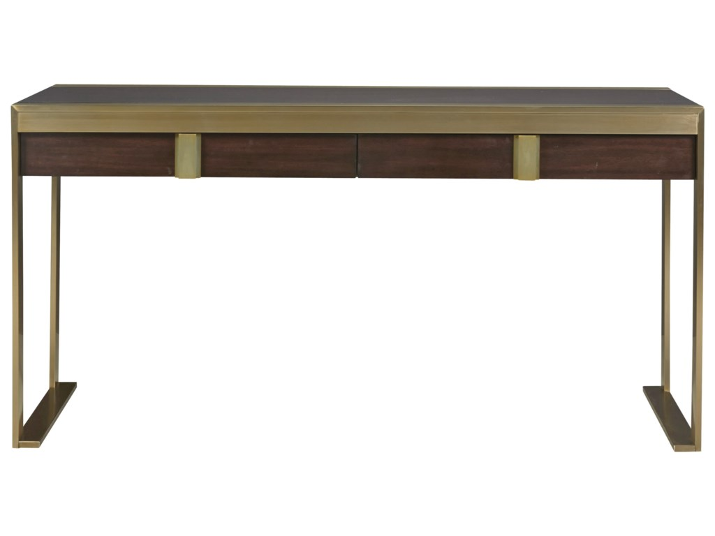 separation shoes ab5bd 67f83 Modern Hayworth Console Desk with Two Drawers by Universal at Hudson's  Furniture