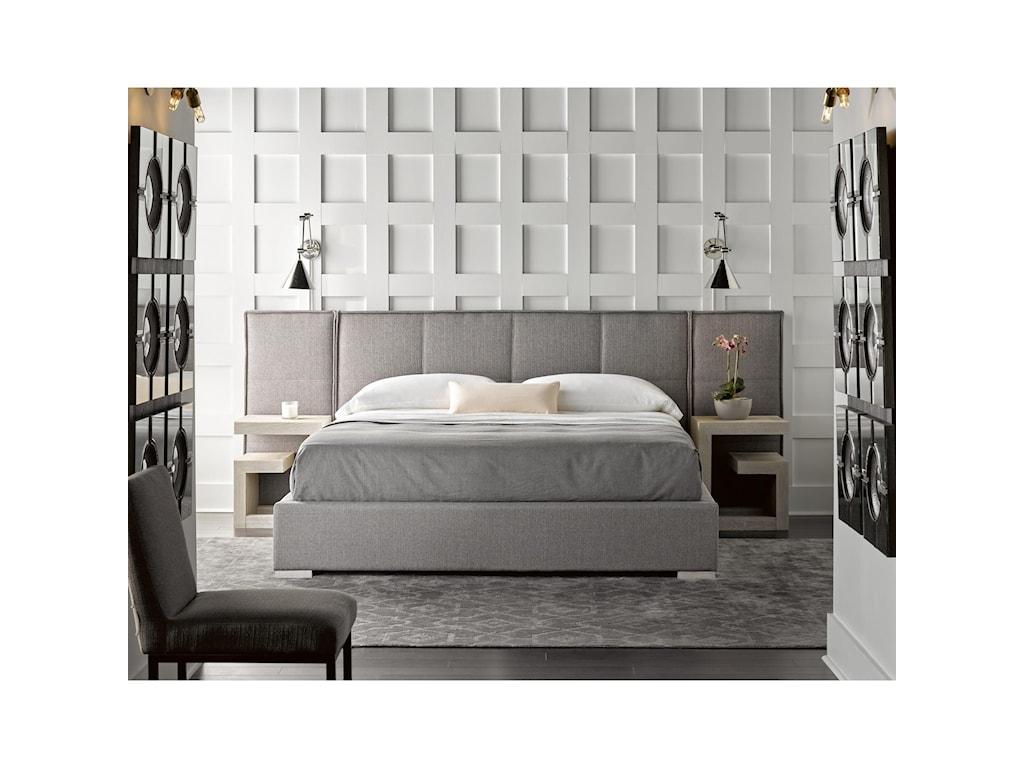 Universal ModernConnery Cal King Panel Bed
