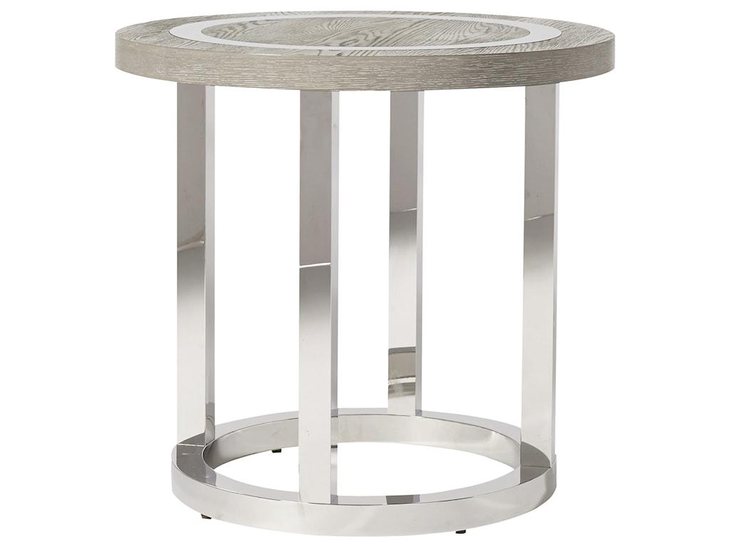 Universal Modern Wyatt Round End Table