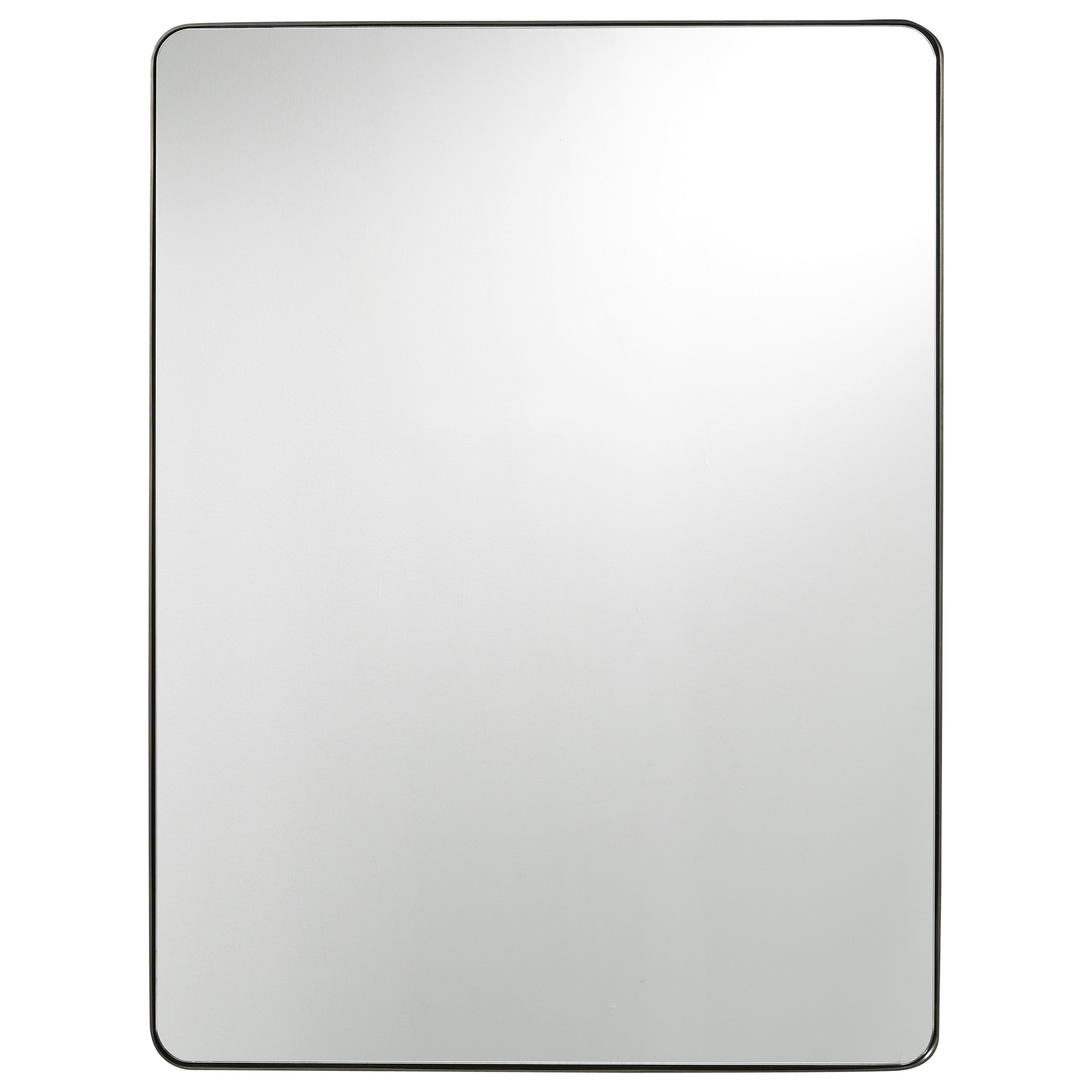 Universal Modern Accent Mirror Reeds Furniture Wall Mirrors