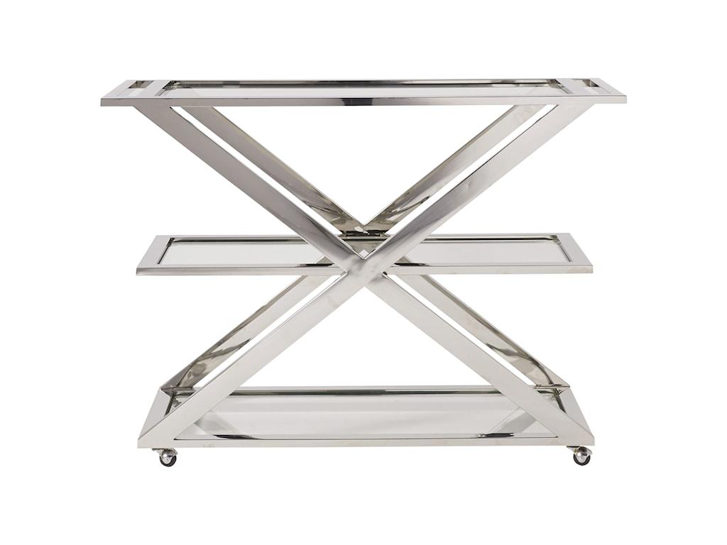 Universal ModernDraper Bar Cart