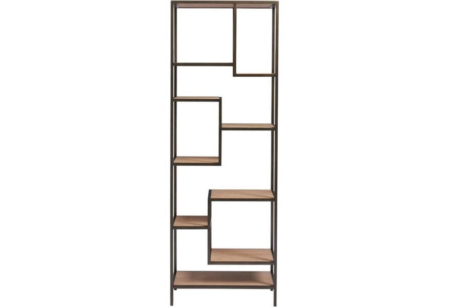 Universal Modern Sand 846850 Lamarr Contemporary Etagere With