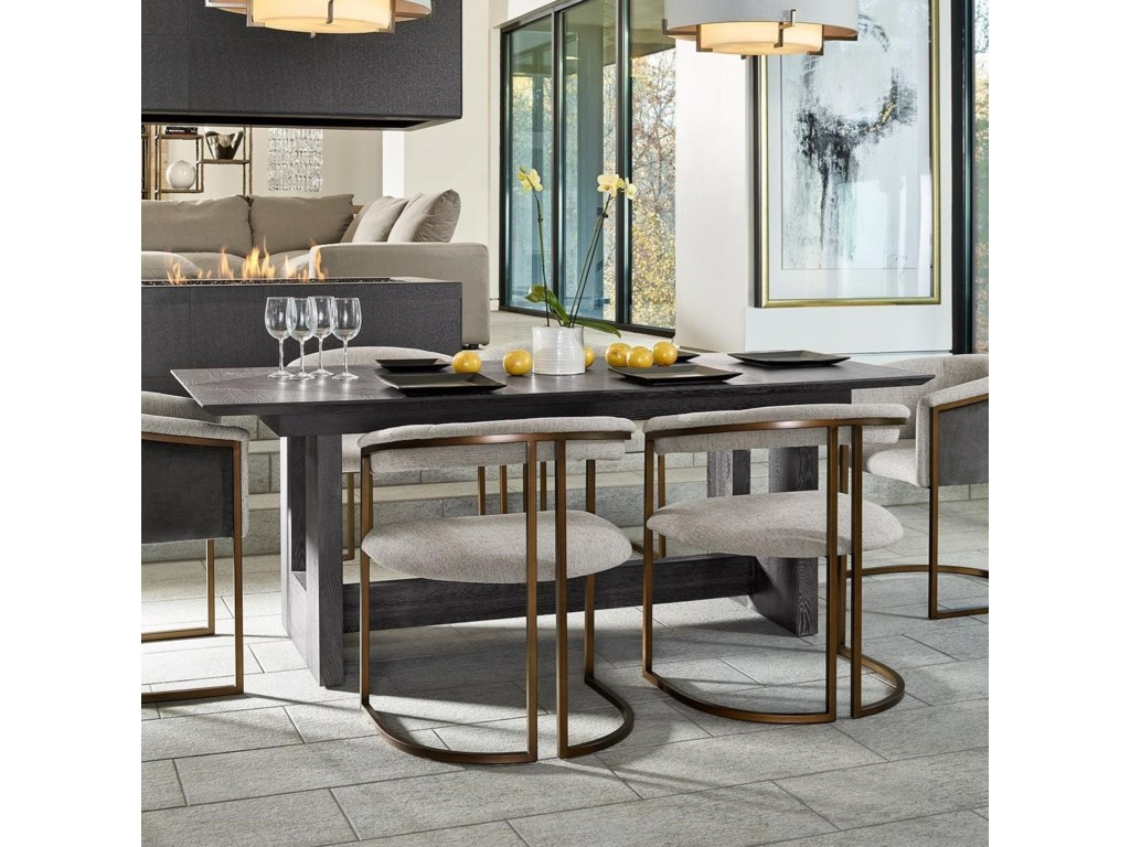 Universal Modern - OnyxKubrick Dining Table