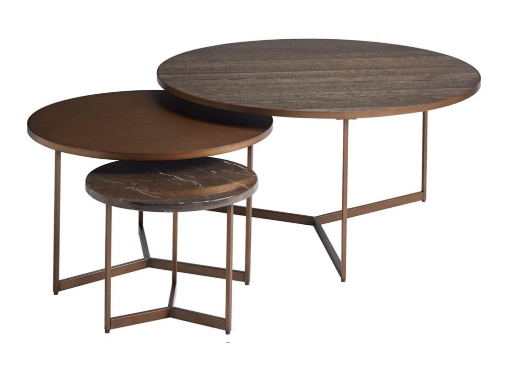 Modern - Onyx Cagney Bunching Tables by Universal at Reeds Furniture