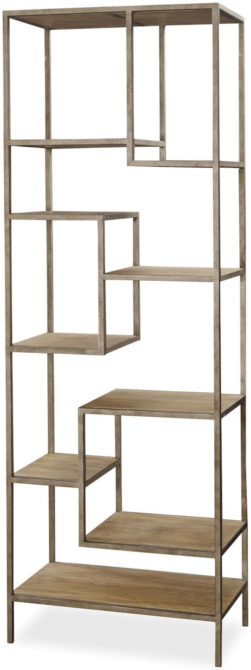 Universal Moderne Muse Bunching Etagere with 9 Shelves