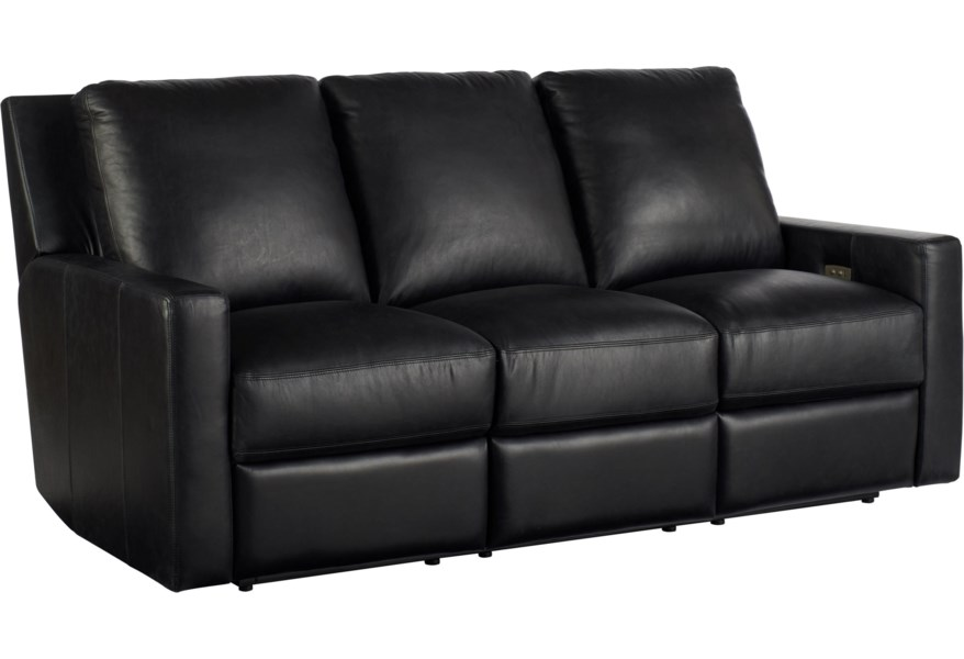 Universal Motion Contemporary Carter Motion Sofa With Power Recline | Lindy