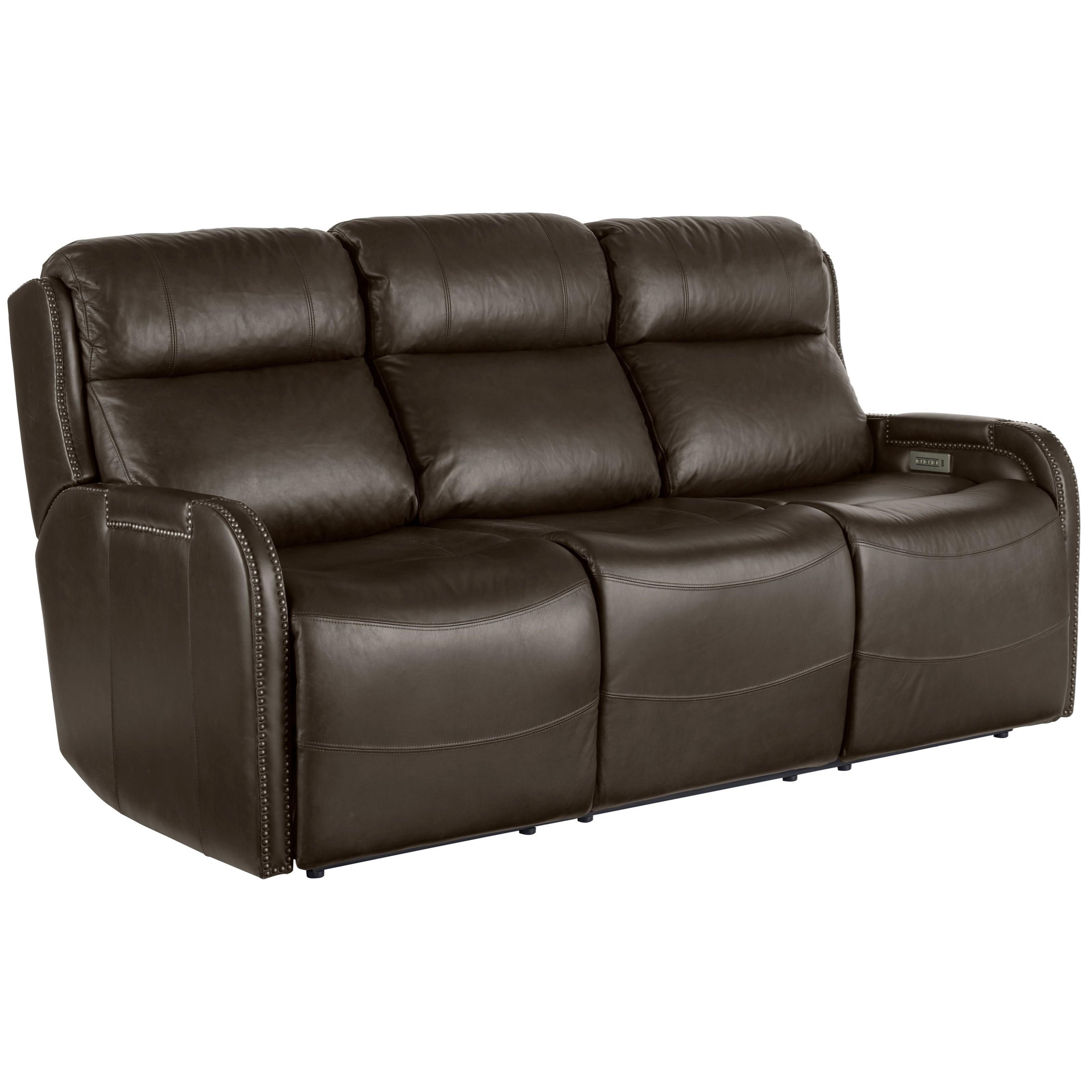 Transitional Mayfield Motion Sofa with Power Recline