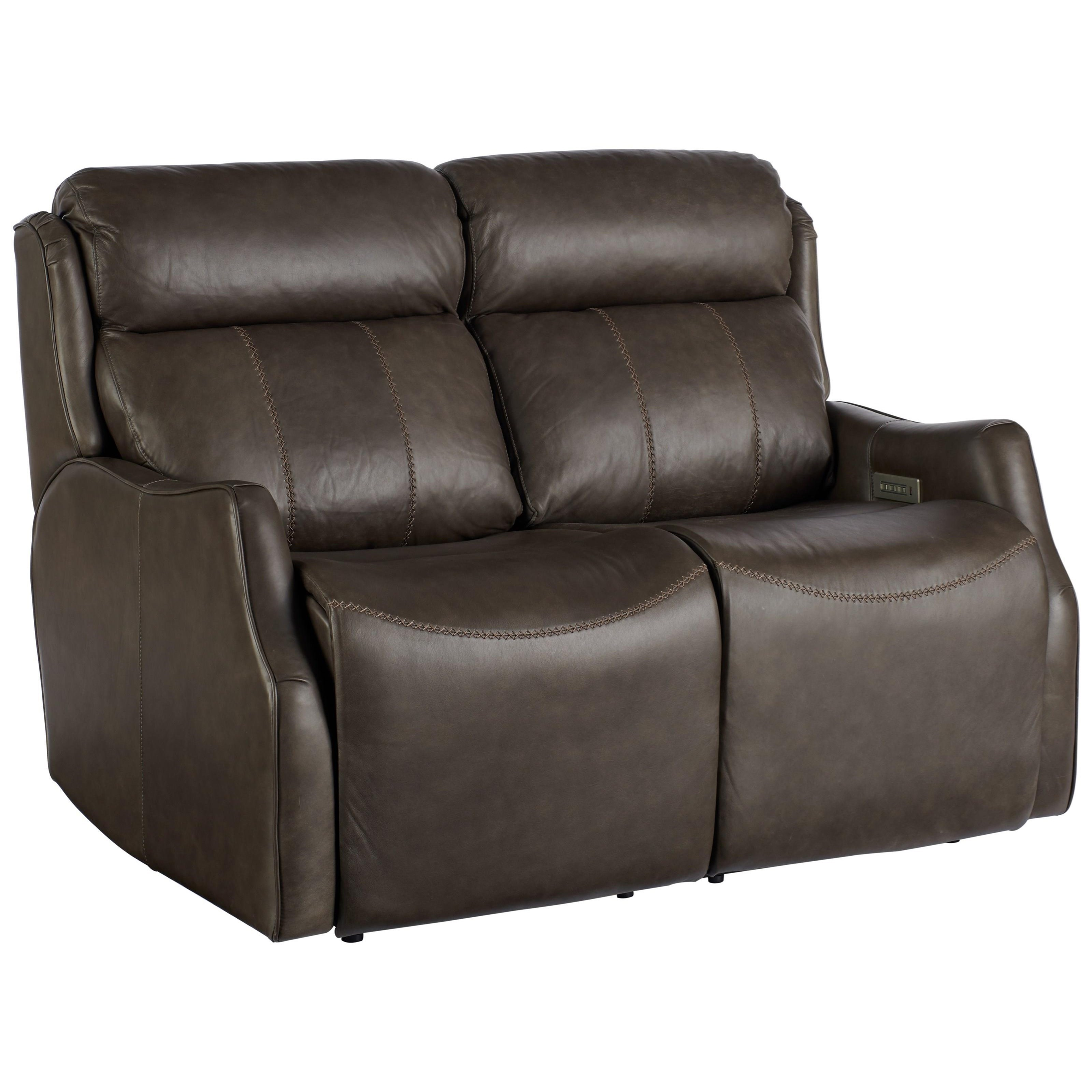 Transitional Watson Motion Loveseat with Power Recline