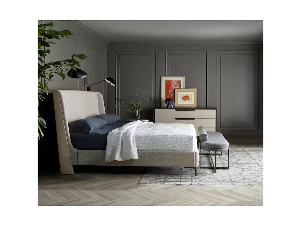 Universal Nina Magon 941Jasper King Upholstered Bed