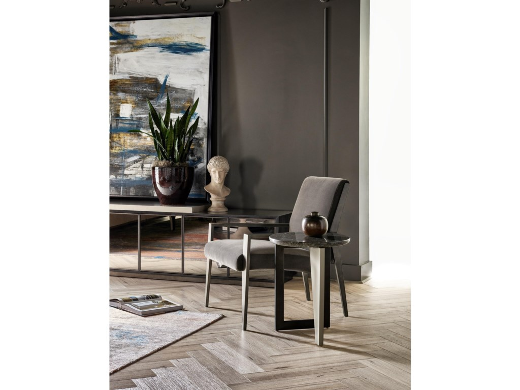 Universal Nina MagonMangold Accent Chair