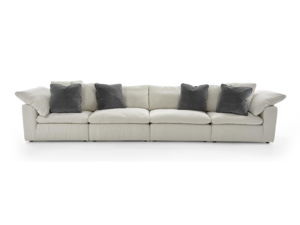 Universal Palmer4 Pc Sectional Sofa