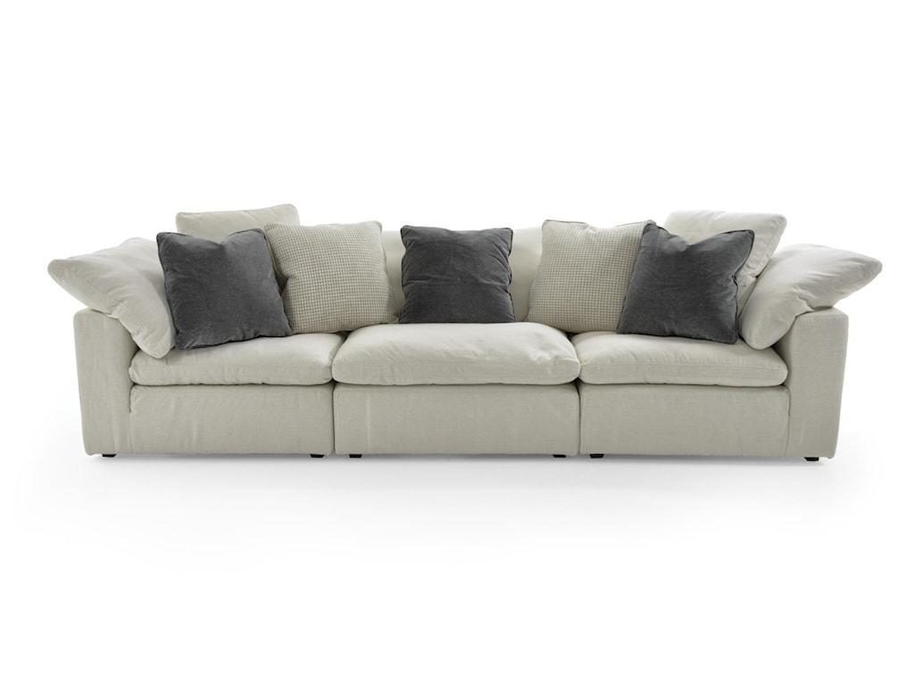 Universal Palmer3 Pc Sectional Sofa