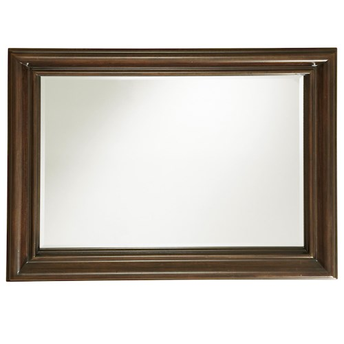 Universal Proximity Rectangular Mirror with Profiled Frame