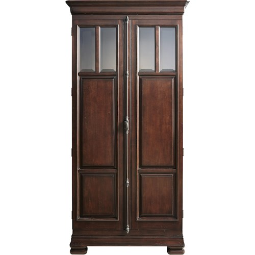 Universal Reprise 2 Door Cabinet With Adjustable Shelves And Touch