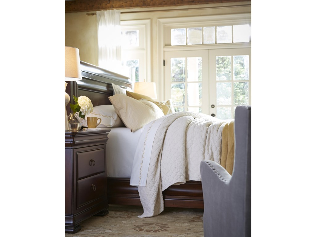 Universal RepriseKing Sleigh Bed