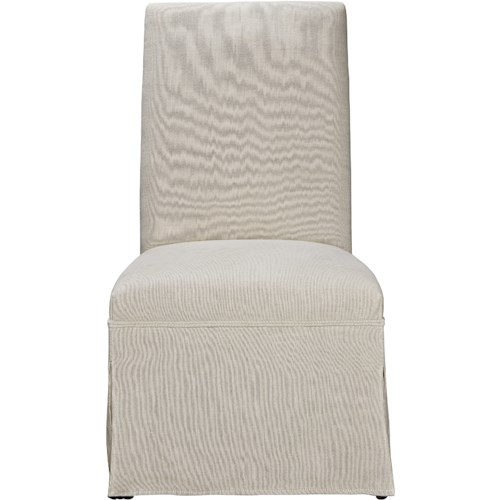 Universal Sojourn Respite Upholstered Side Chair with Skirted Base