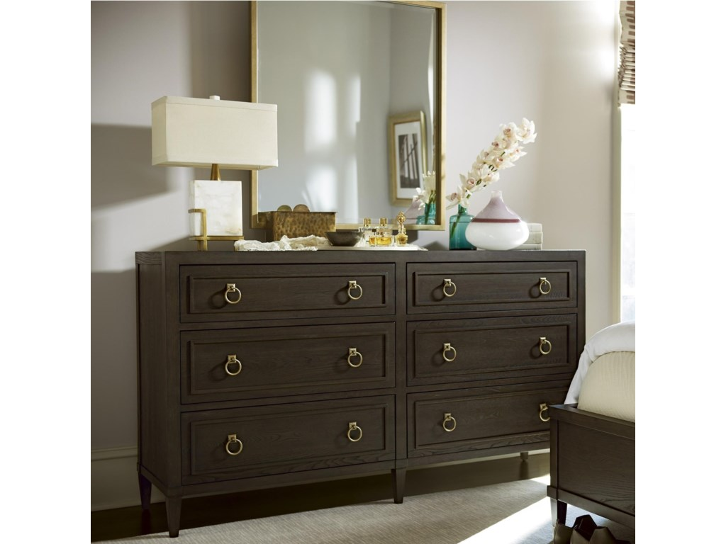 Universal SoliloquyDresser and Mirror Combo
