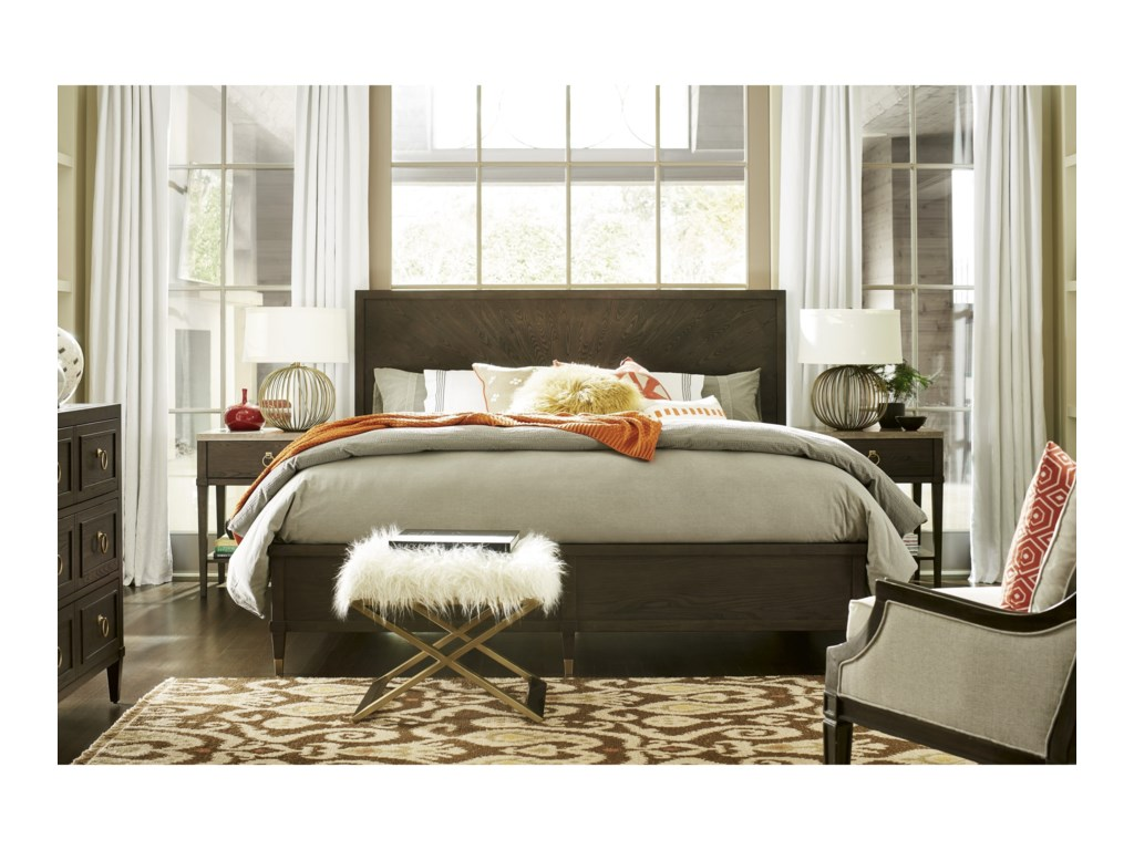 Universal SoliloquySidney Queen Bed