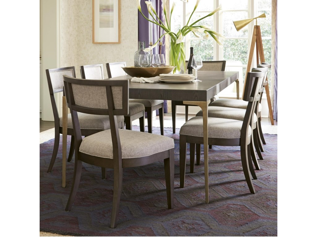 OCONNOR DESIGNS Soliloquy9 Piece Table and Chair Set