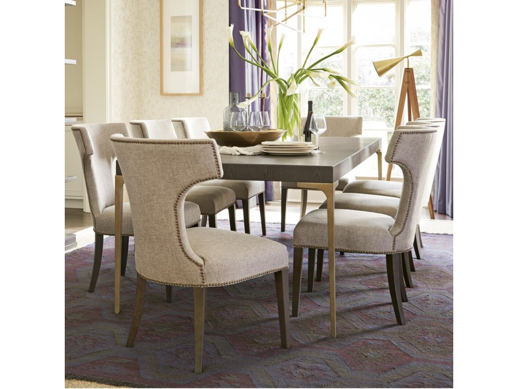 Universal Soliloquy9 Piece Table and Chair Set