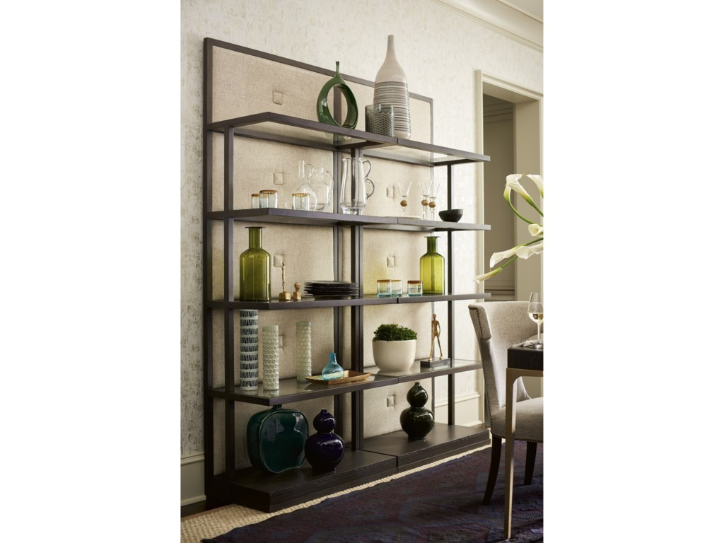 Universal SoliloquyButton Back Etagere