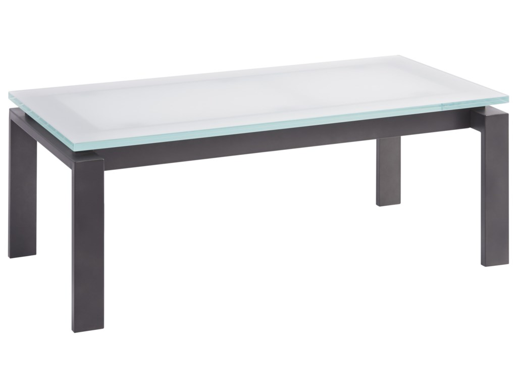 Universal Spaces Mixed MediaVance Cocktail Table