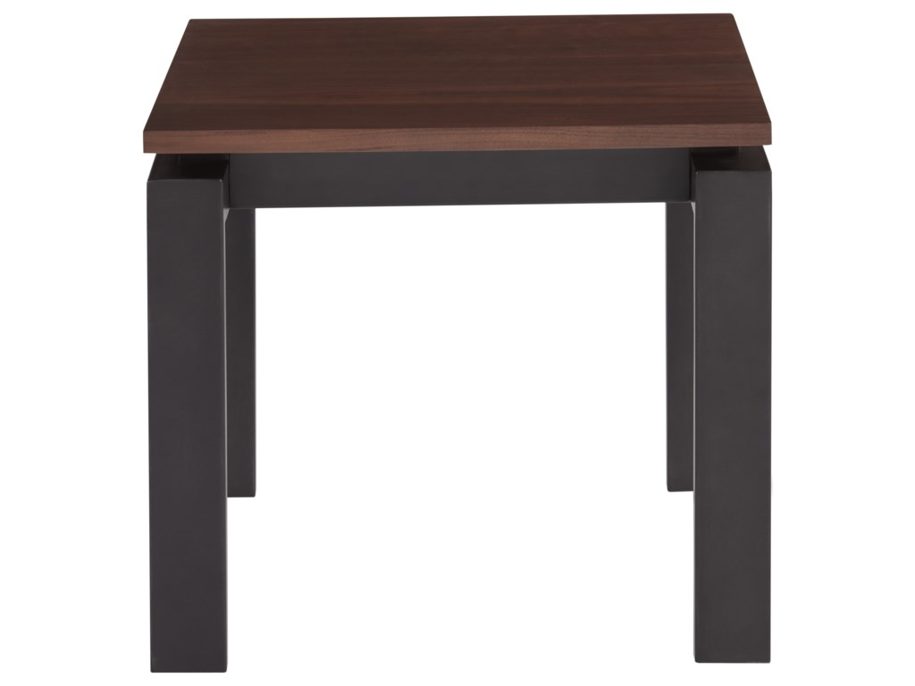 Universal Spaces Mixed MediaVance End Table