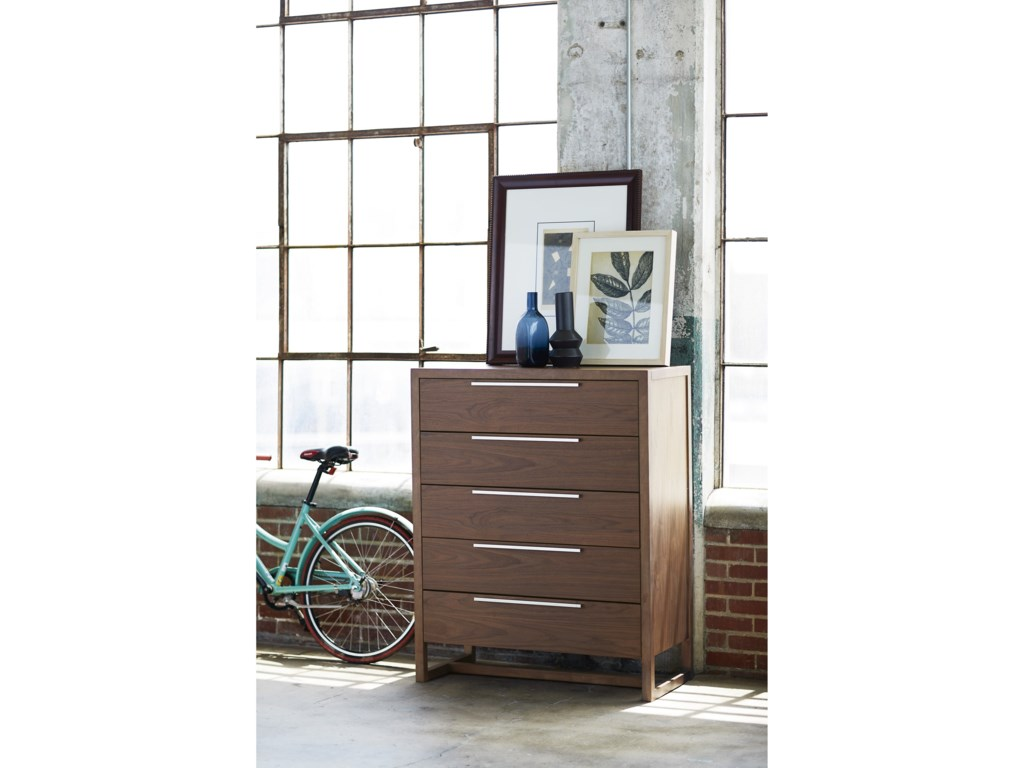 Universal Spaces WalnutParker Drawer Chest