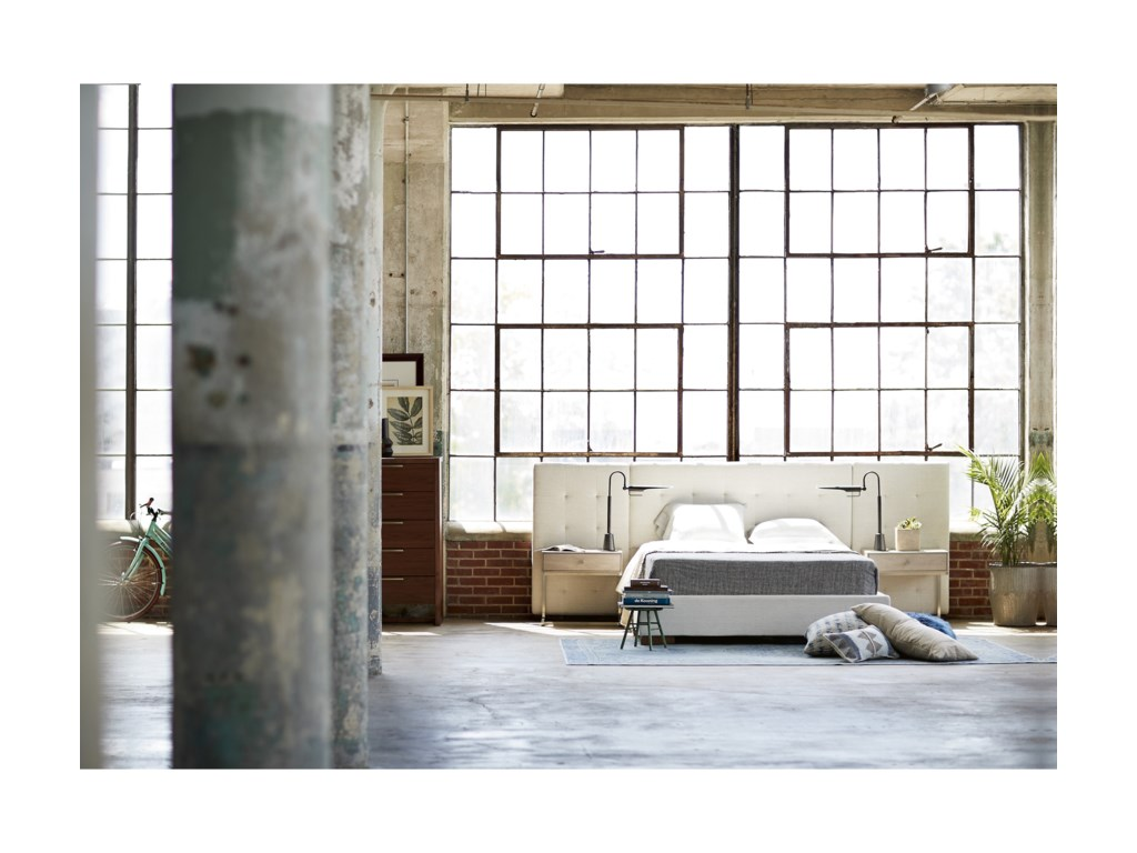 Wittman & Co. Spaces WalnutBrantley King Wall Bed
