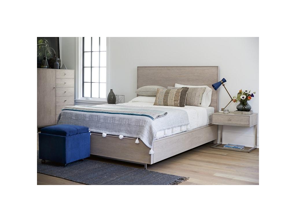 Universal Spaces MistTanner Queen Storage Bed