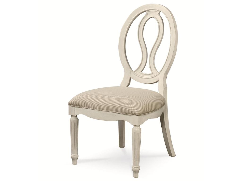 Universal Summer HillPierced Back Side Chair