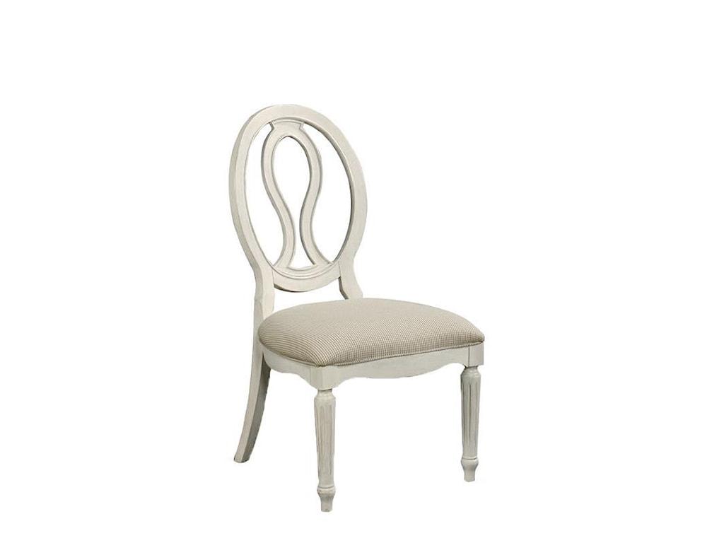 Wittman & Co. Summer ShadeSummer shade Pierced Back Side Chair