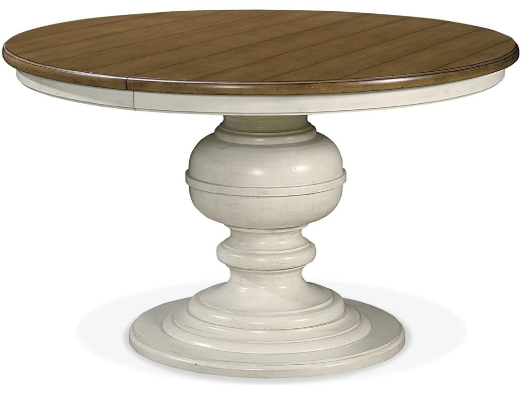 Universal Summer HillRound Pedestal Table