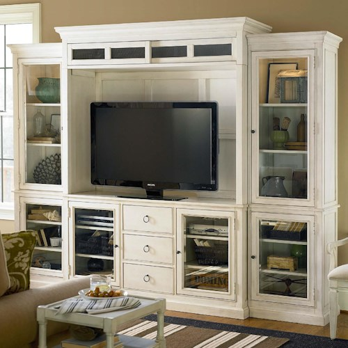 Universal Summer Hill Entertainment Wall Unit | Wayside Furniture ...